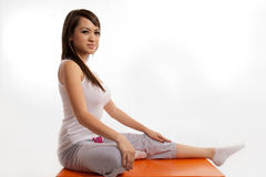 Attractive asian filipina woman Stock Image