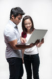 Attractive Asian Friends Royalty Free Stock Photo