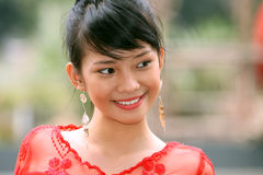 Attractive Asian Girl Stock Photo