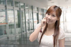 Attractive Asian girl Stock Images