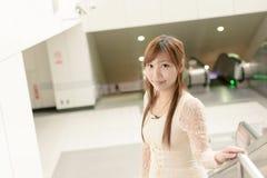 Attractive Asian girl Stock Photos