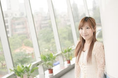Attractive Asian girl Royalty Free Stock Image