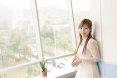Attractive Asian girl Royalty Free Stock Photos