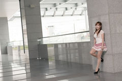 Attractive Asian girl Royalty Free Stock Images