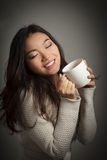 Attractive asian girl 20 years old shot in studio Stock Photos