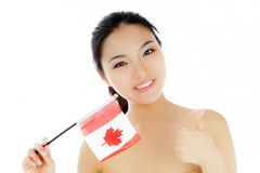 Attractive asian girl 20 years old shot in studio Stock Photo