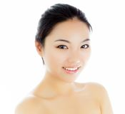 Attractive asian girl 20 years old shot in studio Royalty Free Stock Photo