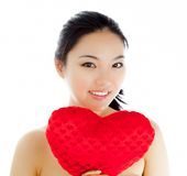 Attractive asian girl 20 years old shot in studio Stock Photography