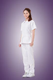 Attractive Asian nurse Stock Photography