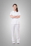 Attractive Asian nurse Stock Image