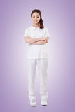 Attractive Asian nurse Stock Photo