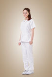Attractive Asian nurse Stock Photos