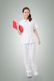 Attractive Asian nurse Royalty Free Stock Image