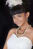 Attractive asian teenage girl Royalty Free Stock Photos
