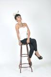 Attractive asian teenage girl Stock Photography