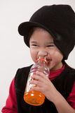 Attractive asian toddler child Stock Image