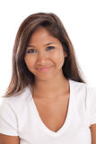 Attractive Asian woman portrait Royalty Free Stock Image