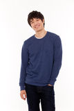 Attractive Asian young man Royalty Free Stock Photos