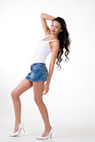 Attractive asian young woman Royalty Free Stock Photography