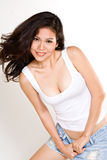 Attractive asian young woman Royalty Free Stock Images