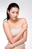 Attractive asian young woman Stock Images