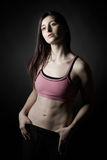 Attractive Athletic Girl in Sportswear Royalty Free Stock Photo