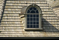 Attractive Attic window Stock Image