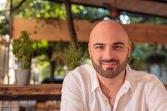 Attractive Bald Man Stock Photos