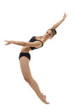 Attractive ballerina posing in elegant posture Stock Images