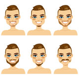 Attractive Beard Style Man Stock Photos