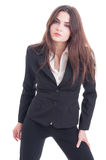 Attractive, beautiful and confident business woman Stock Photography