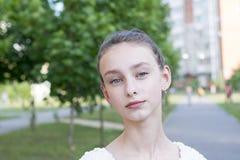 Attractive beautiful woman stock photo