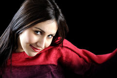 Attractive beautiful young women portrait Royalty Free Stock Image