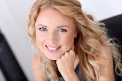 Attractive blond businesswoman Stock Image