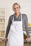Attractive blond chef Stock Images