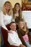 Attractive Blond Family 1 Stock Images