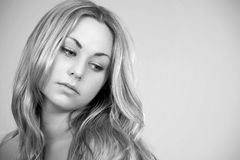 Attractive Blond Female Stock Image