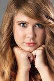 Attractive blond girl Royalty Free Stock Photography