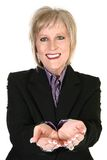 Attractive Blond Grandmother Stock Photography