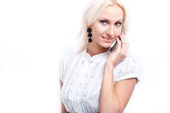 Attractive Blond Model Royalty Free Stock Photos
