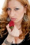 Attractive blond twenties russian caucasian Stock Image