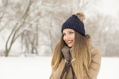 Snow beauty Royalty Free Stock Image