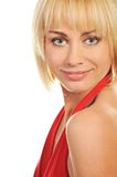Attractive blond woman Royalty Free Stock Photos