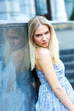 Attractive blond woman Royalty Free Stock Photography