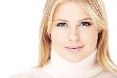 Attractive blonde Royalty Free Stock Images