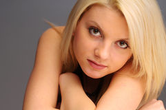 Attractive Blonde Girl Royalty Free Stock Photography