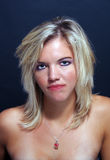 Attractive Blonde Headshot (1) Royalty Free Stock Photos