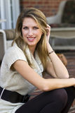 Attractive Blonde Model Stock Images