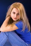 Attractive blonde woman Royalty Free Stock Photos