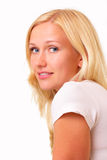 Attractive blonde young woman Royalty Free Stock Image